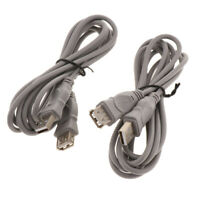 2x 6ft Controller Extension Cable Cord for Playstation Classic Mini Console