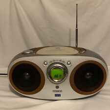 Philips MP3 CD Radio Portable Boombox Ultra Bass 2 Digital Tuner AZ1155 Preowned