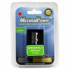 Camera Battery For NIKON EN-EL1 ENEL1 COOLPIX 4300 4500 4800 E880 995 5700 8700