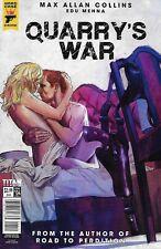 Quarry's War Comic Issue 4 Modern Age First Print 2018 Max Allan Collins Menna