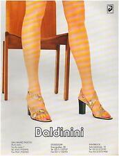 ▬► PUBLICITE ADVERTISING AD Baldinini Chassures shoes  1996