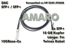 HP X242 J9285B komp. SFP+ SFP+ 10G DAC Twinax Copper Kabel 7m