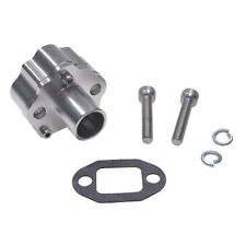 Silver 32mm CNC Reed Valve Intake Manifold Fit 60cc 66cc 80cc Motorized Bike