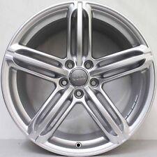 19 inch Genuine Audi S5 / A5 2013 MODEL ALLOY Wheels IN SILVER