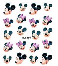 Disney Nail Art (water decals) Minnie Mouse Nail Art Minnie Nail Decals