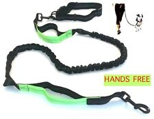 Hands Free Leash Dog Adjustable Running Waist Belt Hands-Free Lead NEW