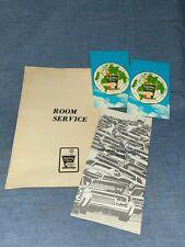 Vintage Holiday Inn Ephemera ~ Room Service Menus and Postcards ~ Advertising