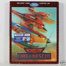 Planes: Fire & Rescue With Lenticular Slip Cover Blu-ray Disc
