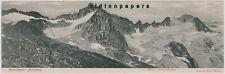 Furtschagl Panoramakarte Mösele Schönbichlerhorn Zillertal ungefalzt um 1910