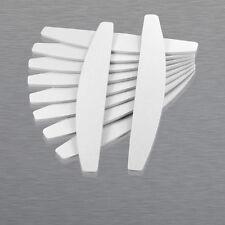 50 x HALBMOND Feilen 100/180 Nagelfeilen Nagel Feile Maniküre Nail-file Feilen