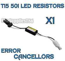 1x T15 501 W5w resistencias Canbus No Error Led sidelight inversa Bombilla Resistencias