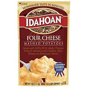 Idahoan Four Cheese Mashed Potatoes, Made with Gluten Free Real Idaho Potatoes