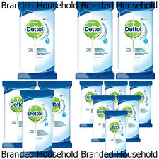 DETOLL ANTIBAC SURFACE CLEANING LARGE WIPES MULTI PURPOSE 84 WIPES CHOOSE PACK