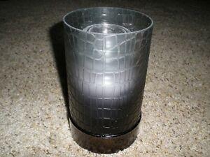 NIB Yankee Candle Crocodile Mist Jar Candle Holder