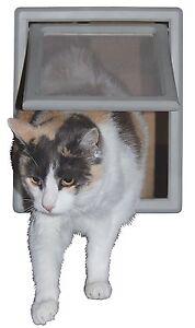 Ideal Screen Fit Cat Dog Pet Door Window Screen Door Flap