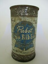 New ListingVintage Pabst Blue Ribbon Beer Can Flat Top Breweriana Empty 12 oz Man Cave