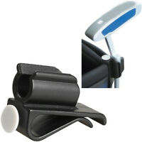 Clip On Holder Putting Putter Clamp Golf Club Ball Golf Equipment Marker