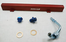 OBX Red Aluminum Fuel Rail Fit 02 03 04 05 06 Sentra SER-V Spec-V 2.5L QR25DE