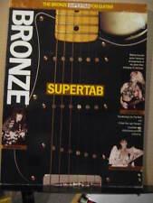 Bronzo supertab scheda per i Metallica / Lita Ford / GUNS 'N' ROSES / MALMSTEEN / Tesla ETC