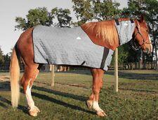 HYPERKEWL Evaporative Cooling Horse Neck Wrap - Size Medium (Silver)