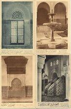 Lot 4 cartes postales anciennes mosquée de PARIS 3