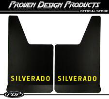 Chevrolet Silverado Z71 1500, Mud Flaps Z-71, Chevy MUDFLAPS Silverado_YELLOW