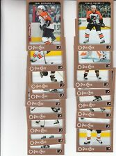 06/07 OPC Philadelphia Flyers Team Set with Rookies and Inserts - Forsberg +