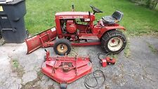 "1976 Wheel Horse B60 Kohler K161T W/ 42"" Snow Blade 36"" Mower Deck & Mule drive"