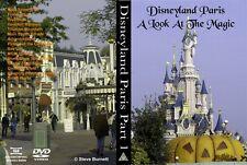 Eurodisney - Disneyland Resort Paris  Part 1 - A Look at the Magic DVD (NEW)