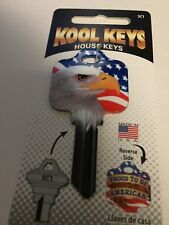 Schlage Patriotic Eagle Blank Key