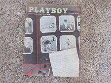 Vintage Playboy magazine September 1956