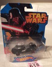 Star Wars Darth Vader Car Hot Wheels 2014 Mattel (NEW BOXED) LOT P618