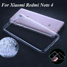 Transparent Soft Back Case Cover Pouch for Xiaomi Redmi Note 4 StyleMyBot Totu