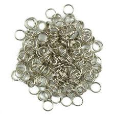200pcs DIY Steel Metal Key Split Ring Keyrings Key Chain Findings Making 6mm