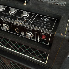 Vox Conqueror rig (75 Watt head + cabinet with 2 x 12'' JMI speakers)
