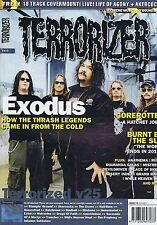EXODUS / GOREROTTED / BURNT BY THE SUN	Terrorizer	no.	115	Dec	2003