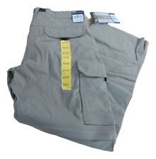 Men's BC Clothing Stretch Convertible Cargo Hiking Pants/Shorts w/8 Pockets