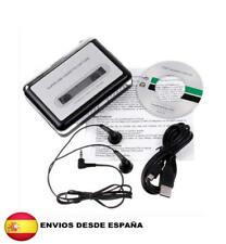 Audio Cassette USB para Pasar Cintas de Música a MP3