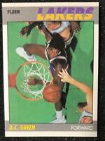 1987-88 Fleer A.C. Green RC Rookie Card # 42 - GREAT CONDITION! 🔥