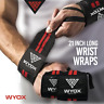 WYOX Weight Lifting Wrist Wraps Fitness Weightlifting Gym Workout Training 1Pair