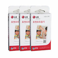 LG Pocket Photo PoPo Zink 90 Sheets Paper for PD239 PD221 PD251 PD261 PD269