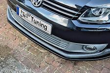 Sonderaktion Spoilerschwert Frontspoiler Cuplippe aus ABS für VW Touran Cross