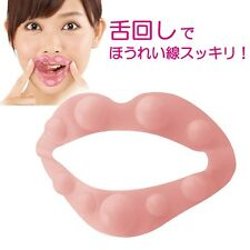 Anti-aging exercise mouthpiece, Tongue Turn