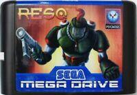 ResQ (1994) 16 Bit Game Card For Sega Genesis / Mega Drive System