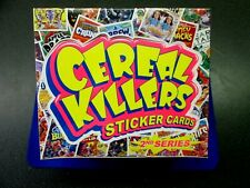 CEREAL KILLER 2ND SER. SEALED BOX 24 PACKS JOE SIMKO NEIL CAMERS ART- WACKY PACK