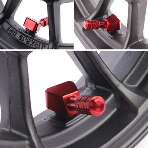 2PCS Motorcycle Wheel Tyre Nozzle Air Dust Cover Screw Caps Car Truck Bike Set