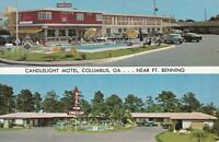 Columbus, GA - Candlelight Motel - Swimming Pool - Exterior - Signage - Grounds
