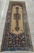 BEAUTIFULLY ATTRACTIVE ANTIQUE PERSIANn KURDISH LONG RUG RUNNER. TRIBESWOMEN