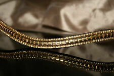 """Bling Diamante Crystal Matt Stones Soft LEATHER BROWBAND for Bridle 16.5/"""""""