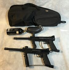 TIPPMANN MODEL 98 PAINTBALL MARKER x 2 with CO2 Tank